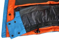 LYŽAŘSKÁ BUNDA BLIZZARD POWER JACKET (LIGHT BLUE/BLUE/ORANGE, BLACK/ORANGE/ORANGE, BLACK/GREEN/GREEN, BLUE/GREEN/GREEN)