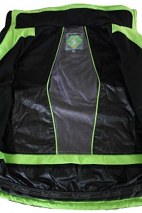 LYŽAŘSKÁ BUNDA BLIZZARD RACE JACKET (BLACK/BLACK/GREEN, BLACK/BLACK/ORANGE)