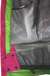 LYŽAŘSKÁ BUNDA BLIZZARD VIVA FREEMOUNTAIN JACKET (PINK/GREEN)