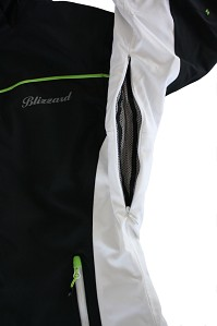 LYŽAŘSKÁ BUNDA BLIZZARD VIVA POWER JACKET (BLACK/WHITE/GREEN, GREEN/WHITE/PINK, BLACK/WHITE/PINK, LIGHT BLUE/WHITE/PINK)