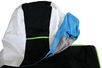LYŽAŘSKÁ BUNDA BLIZZARD VIVA RACE JACKET (BLACK/WHITE/LIGHT BLUE/GREEN)